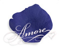 100 Silk Rose Petals Royal Blue