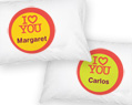 I Love You- Personalized Pillowcase Set 2 pcs