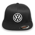 VW Flex-fit Black Hat