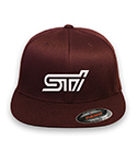 Subaru STI Flex-fit Black Hat