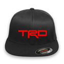 Toyota TRD Flex-fit Black Hat