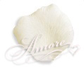 200 Silk Rose Petals Light Ivory