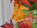 Fall Leaves Garland 6 ft long
