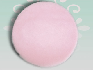 12 inches Pink Tulle Circles - 25 pcs