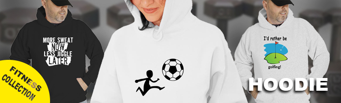 Fitness Hooded Sweatshirt