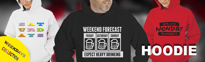 Weekdays Hooded Sweatshirt