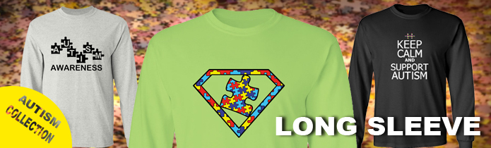 Autism Long Sleeve T-Shirts
