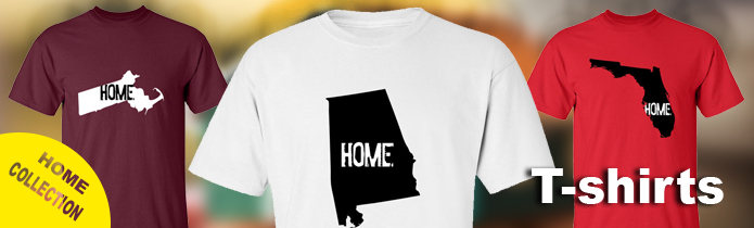 My Home State T-shirts