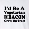 I'd Be A Vegetarian Long Sleeve T-Shirt
