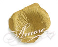 Gold Silk Rose Petals Wedding 100