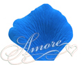 Cobalt Blue Medium Blue Silk Rose Petals Wedding 100