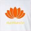 Namaste Lotus 2 Long Sleeve T-Shirt