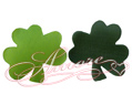 Silk Shamrock Leaves