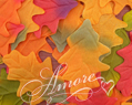 Silk Oak Fall Leaves Wedding
