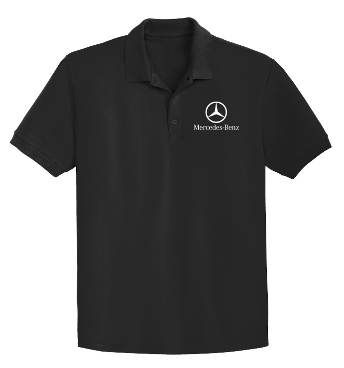 Mercedes-Benz POLO T-Shirt Embroidery
