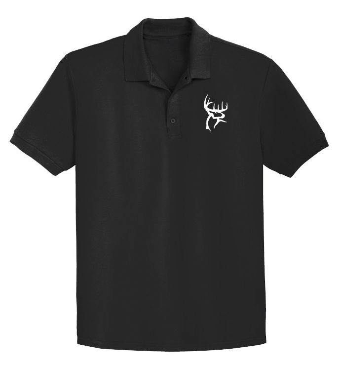 Buck Commander Deer Bow Hunting Polo T-Shirt Embroidery