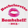Bachelorette Bombshell Wedding T Shirt
