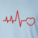 EKG HeartLong Sleeve T-Shirt