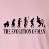 The Evolution Of Man King of Rock n Roll Party Long Sleeve T-Shirt