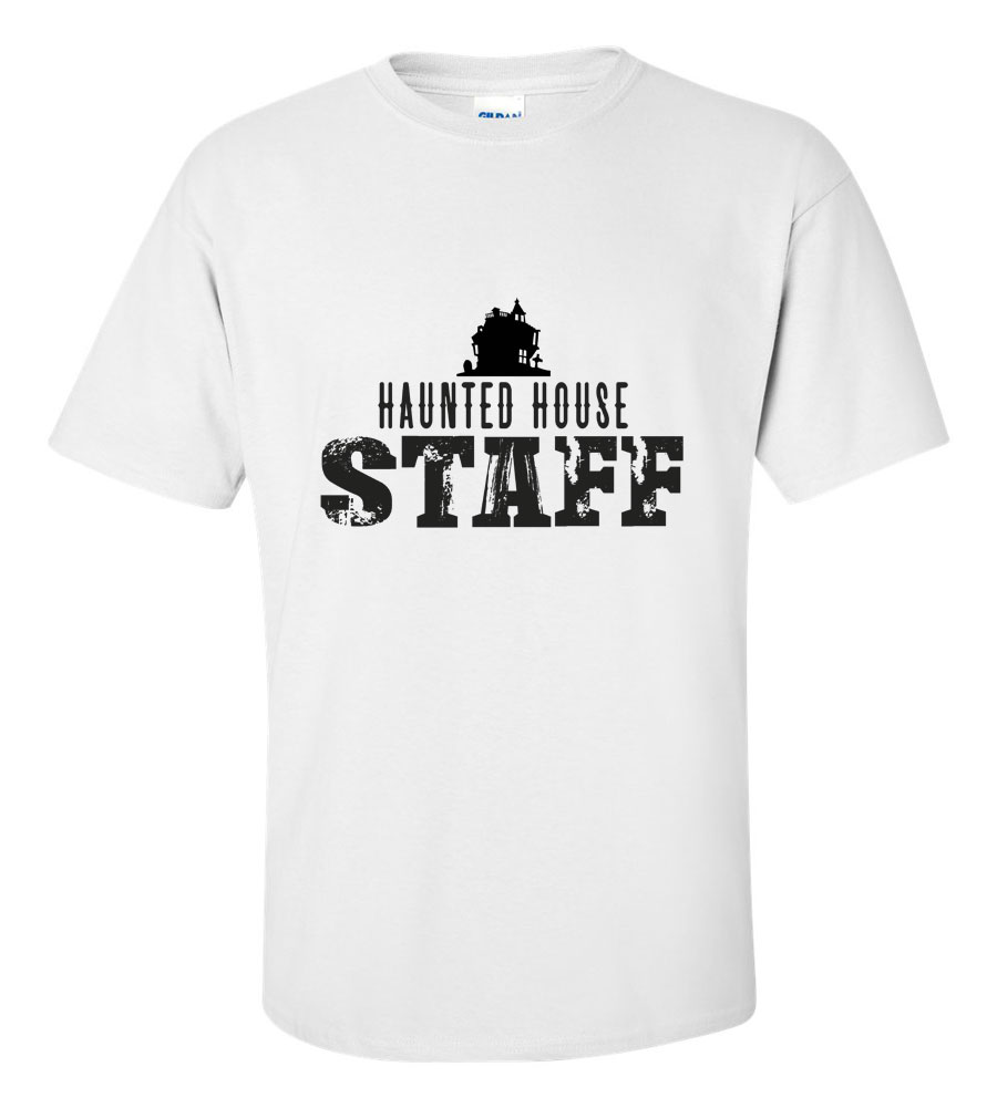 54467c8f2 NYpetals - Halloween Haunted House Staff T-shirt Funny Scary